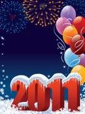 Decoração do ano novo Fotos de Stock