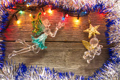 Decoração do ano novo Foto de Stock