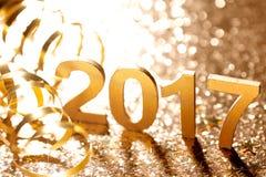 Decoração do ano novo Imagem de Stock