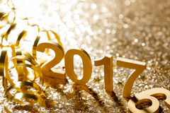 Decoração do ano novo Fotos de Stock Royalty Free