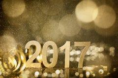 Decoração do ano novo Foto de Stock Royalty Free