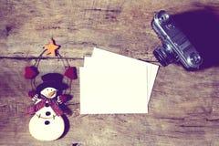 Decoração do ano novo e do Natal imagem de stock royalty free
