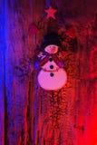 Decoração do ano novo e do Natal imagens de stock royalty free