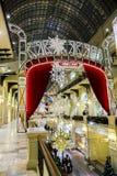 Decoração do ano novo no armazém da GOMA Imagem de Stock Royalty Free