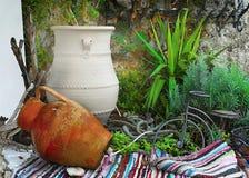Decoração do balcão, Grécia Fotografia de Stock Royalty Free