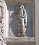 Decoração do Baptistery, catedral em Pisa fotos de stock royalty free