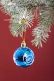 Decoração do bauble do Natal Imagens de Stock