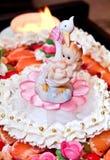 Decoração do bolo Fotos de Stock Royalty Free