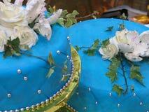 Decoração do bolo fotografia de stock royalty free