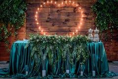 Decoração do casamento Imagem de Stock Royalty Free