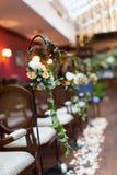 Decoração do casamento Imagens de Stock Royalty Free