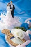 Decoração do casamento Foto de Stock Royalty Free