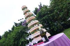 A decoração do casamento Foto de Stock Royalty Free