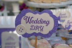 Decoração do casamento Imagens de Stock