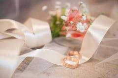 Decoração do casamento Fotos de Stock
