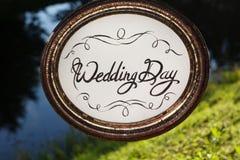 Decoração do casamento E Imagem de Stock