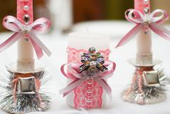 Decoração do casamento Interior Wedding Fotografia de Stock