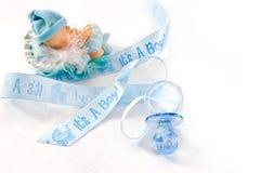 Decoração do chuveiro de bebê Imagem de Stock