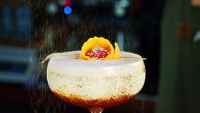 Decoração do cocktail do close up Imagem de Stock