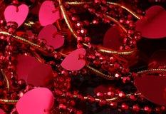 Decoração do coração Fotografia de Stock