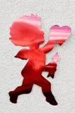 Decoração do Cupid Imagens de Stock