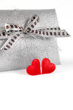 Decoração do dia de Valentim Imagem de Stock Royalty Free