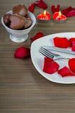 Decoração do dia de Valentim Foto de Stock Royalty Free