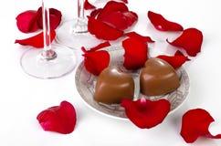 Decoração do dia de Valentim Foto de Stock
