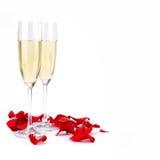 Decoração do dia de Valentim Fotografia de Stock Royalty Free