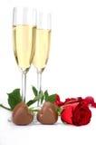 Decoração do dia de Valentim Fotografia de Stock