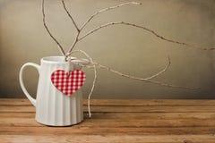 Decoração do dia de Valentim Imagens de Stock Royalty Free