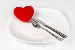 Decoração do dia do Valentim Fotos de Stock Royalty Free