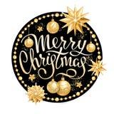 Decoração 2019 do Feliz Natal fotos de stock royalty free