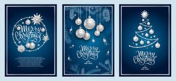 Decoração 2019 do Feliz Natal fotos de stock