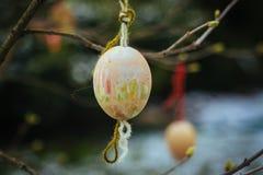 Decoração do feriado da Páscoa na primavera Imagem de Stock Royalty Free
