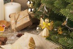 Decoração do feriado de inverno Foto de Stock Royalty Free