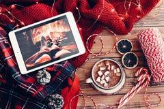 Decoração do feriado de inverno foto de stock