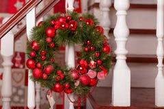 Decoração do feriado do Natal Fotografia de Stock