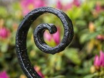 Decoração do ferro feito Fotografia de Stock