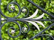 Decoração do ferro feito Imagens de Stock