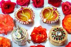 Decoração do festival de Diwali fotografia de stock royalty free