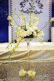 Decoração do fundo do casamento Foto de Stock Royalty Free