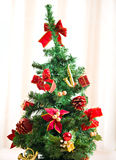 Decoração do inverno da árvore de Chrismas Fotos de Stock Royalty Free