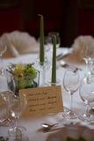 Decoração do jantar - imagem conservada em estoque Imagens de Stock Royalty Free