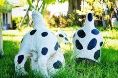 Decoração do jardim do cão Fotografia de Stock Royalty Free
