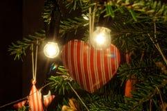 Decoração do Natal Árvore de Natal Foto de Stock