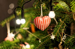Decoração do Natal Árvore de Natal Foto de Stock Royalty Free
