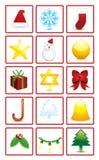 Decoração do Natal Ilustração Stock