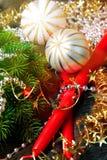 Decoração do Natal Fotografia de Stock