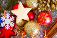 Decoração do Natal. Foto de Stock Royalty Free